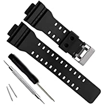 2d12b255a Natural Resin Replacement Watch Band Strap for Casio Mens G-Shock GD120/GA-