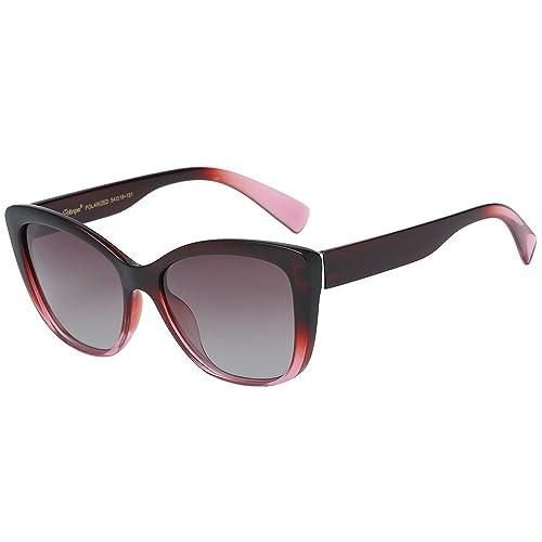 1b8fbf9788365 PrevNext. PrevNext. Polarspex Polarized Women s Vintage Square Jackie O Cat  Eye Fashion Sunglasses
