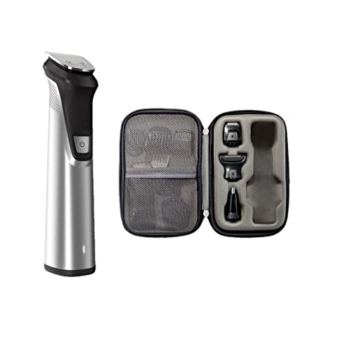 bc318a6752a9 Philips Norelco Multi Groomer MG7770/49 - 25 piece, beard, body, face,  nose, and ear hair trimmer, shaver, and clipper w/ premium storage