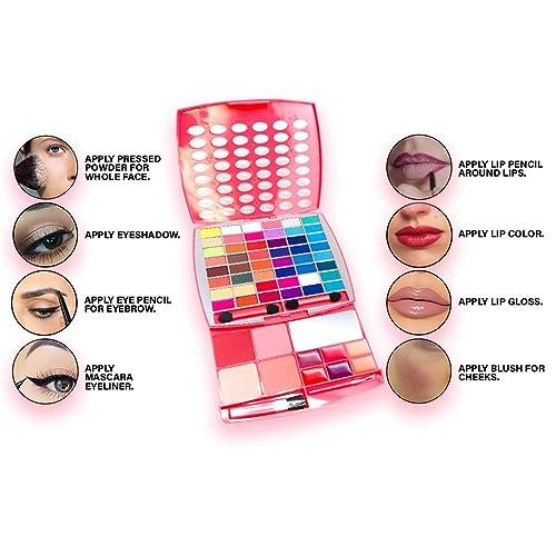 1fec7de2a Home; BR Makeup Kit, Glamur Girl Kit, 48 Eyeshadow / 4 Blush / 6 Lip Gloss.  PrevNext