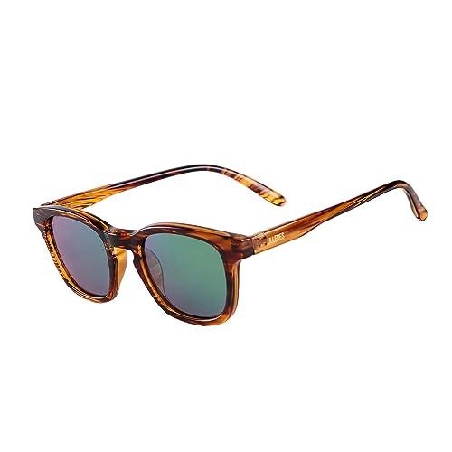2c32f709a538 Kids Sunglasses- Retro 80s Polarized Sunglasses for Children Boys and Girls