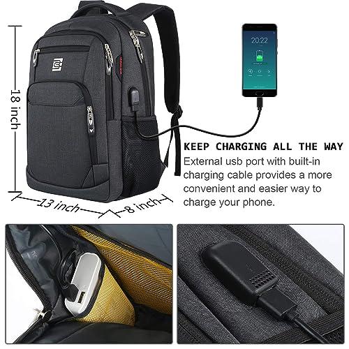 8572b10177e1 Buy Laptop Backpack,Business Travel Anti Theft Slim Durable Laptops ...