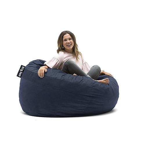 Incredible Buy Big Joe Lenox Fuf Foam Filled Bean Bag King Cobalt Forskolin Free Trial Chair Design Images Forskolin Free Trialorg