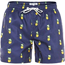 8069e4a15bf MaaMgic Mens Slim Fit Quick Dry Swim Shorts Swim Trunks Mens Bathing Suits  with Mesh Lining