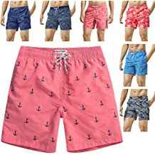 356537add85 MaaMgic Mens Swim Trunks Quick Dry Funny Shorts with Mesh Lining Swimwear  Bathing Suits
